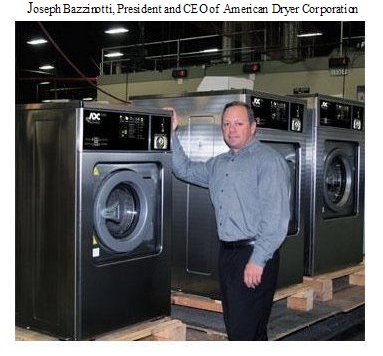 Joseph Bazzinotti, President and CEO of American Dryer Corporation